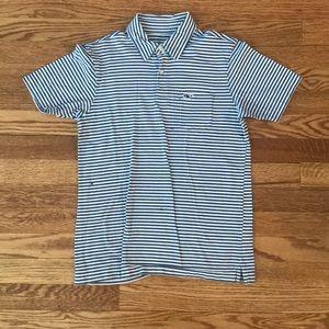 Vineyard Vines Boys Medium (12–14) Short Sleeve